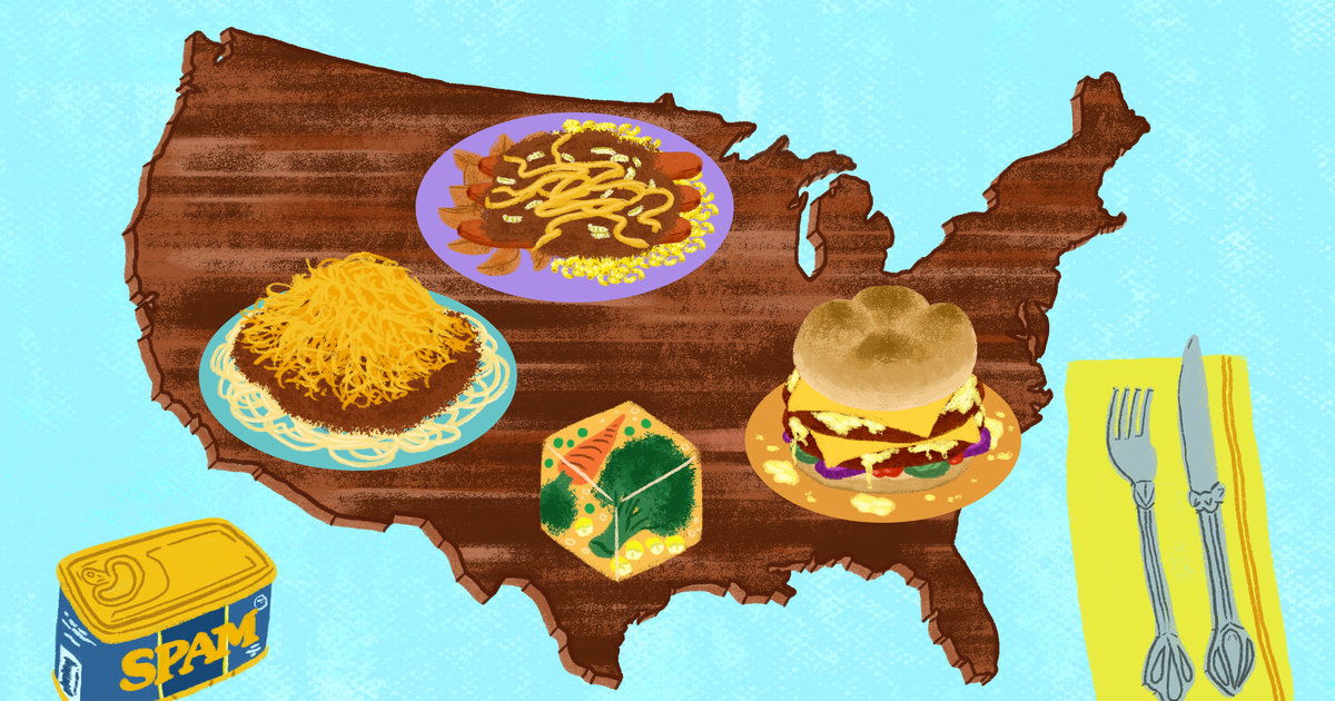 Grossest Foods Map